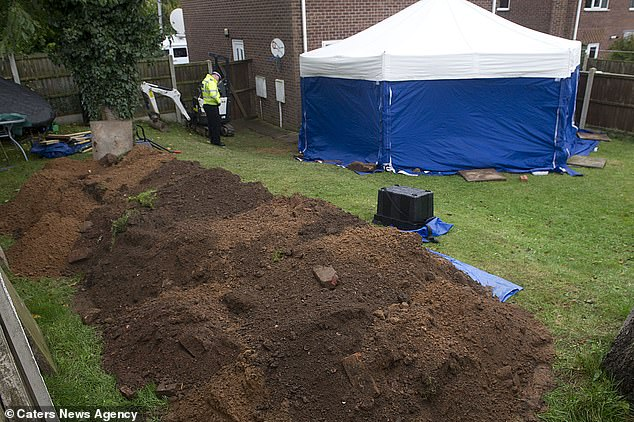 The bodies of William and PatriciaWycherley were found in the garden of their home in 2013