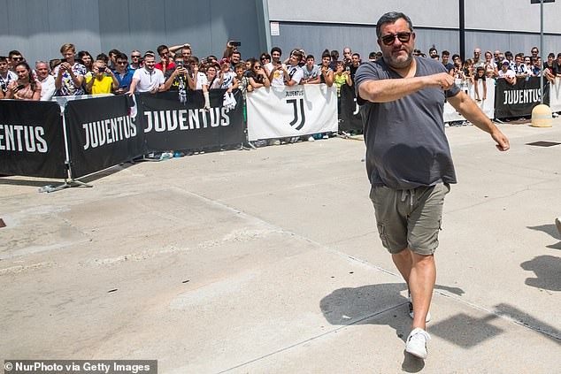 Raiola doesn't believe in wearing a suit and feels being underestimated works in his favour