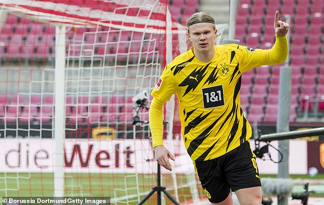 He is set for a busy summer with Europe's major clubs circling around Erling Haaland