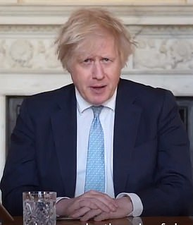 Boris Johnson said in a Twitter video that vaccines don't totally stop transmission