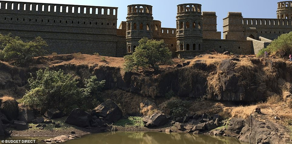 The British East India Company bombarded and destroyed Raigad in 1818, and the ruins have yet to be fully mapped by the Indian government