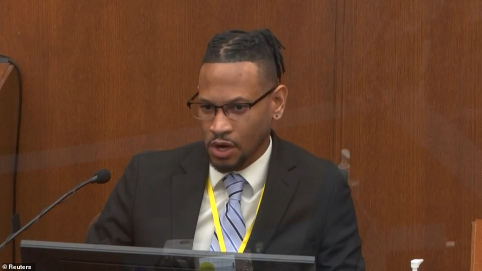Minneapolis police Jon Edwards was the first to testify on day five of Chauvin's murder trial as jurors learned more of what happened in the sober aftermath of Floyd's death on May 25