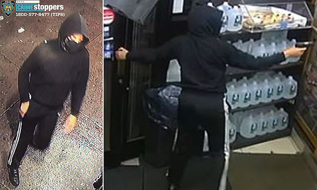 The NYPD released these surveillance stills of the assailant. They are offering a $2500 reward for any information that might lead to her arrest