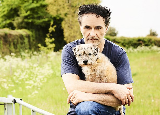 Dark days: As the Royal College of Veterinary Surgeons investigated, Noel faced losing his career and was left 'crying behind closed doors while putting on a smile to face the world'