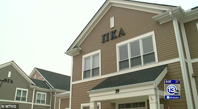 The fraternity house of Pi Kappa Alpha's Delta Beta chapter is pictured. The fraternity could now be completely removed from the university