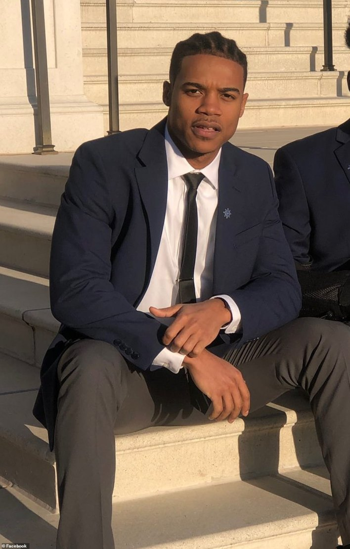 The motive for Friday's attack is not yet clear. Social media posts on now-removed accounts under Green's name speak of fears the federal government was targeting him with 'mind control' and heap praise on Farrakhan for saving him