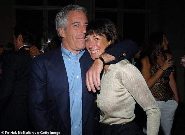 Maxwell, pictured with former lover Jeffrey Epstein, is on suicide watch at a detention centre