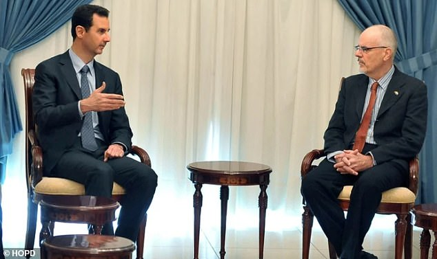 Dr Anderson met with Syrian President Bashar al-Assad several times and is a well-known 'anti-imperialist' who often posts material in support of the Syrian regime on social media