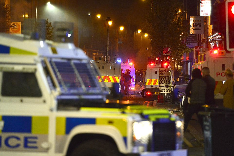 The Sandy Row disturbances, which unfolded ahead of a planned loyalist protest in the area, were met with widespread political condemnation last night