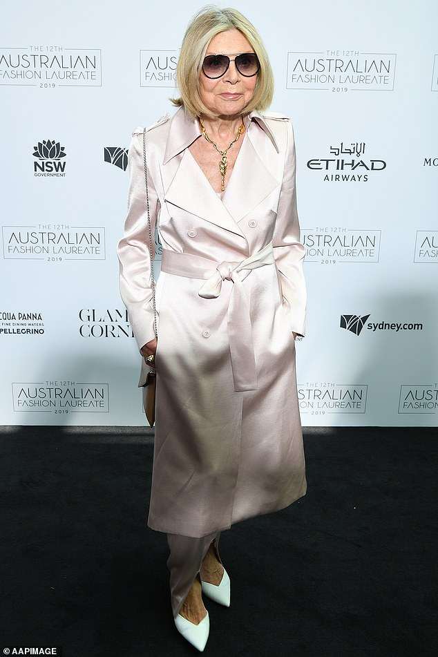 Icon:The high-end designer was born in Italy and immigrated to Western Australia in 1950 when she was about eight years old