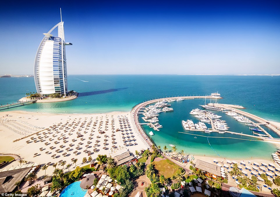 Dubai, which became a popular destination for British influencers to visit during the pandemic, is also expected to reopen