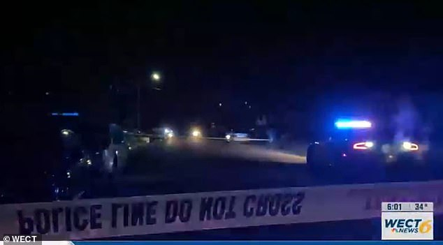 The shooting occurred at a house party in a residential area of Wilmington, North Carolina, last night, leaving three dead and another four injured