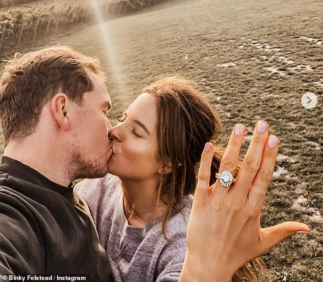 Congratulations:In September 2020, the couple announced that they were engaged after 19 months of dating