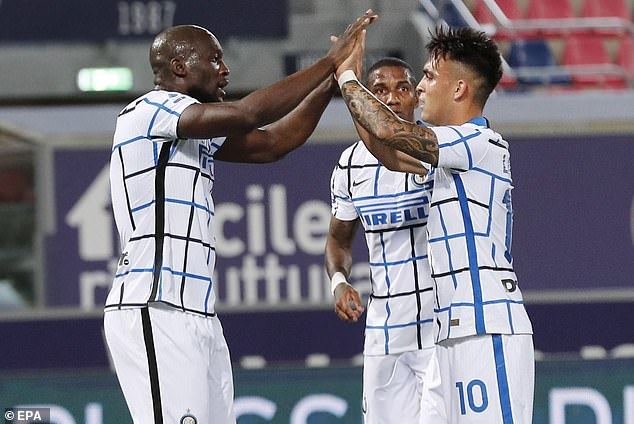 Inter Milan went eight points clear at the top thanks to Romelu Lukaku's first-half effort