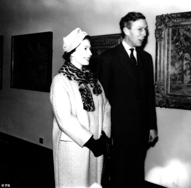 Channel 4 documentary confirmed Blunt (pictured with the Queen) passed letters to the KGB
