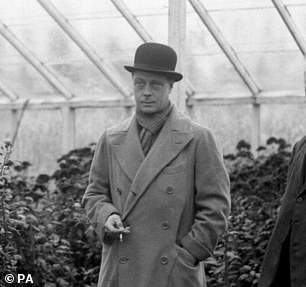 The Duke of Windsor wrote some of the letters whichwere passed along to the KGB