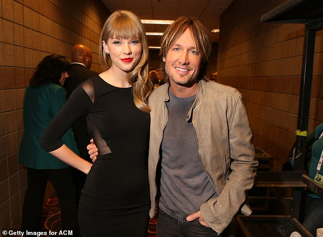 Country rocker Keith Urban, 53, (pictured) broke his silence on 'fearless' Taylor Swift collaboration after the superstar confirmed he will feature on her upcoming vault releases