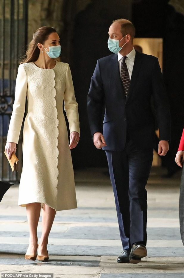 Kate Middleton is being 'very careful' to make sure she doesn't outgrow Prince William after Princess Diana taking the spotlight from Prince Charles 'caused big trouble,' claimed a royal expert.