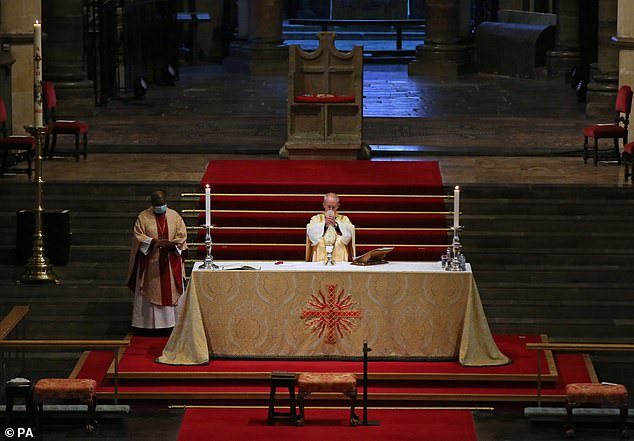 The Archbishop's message comes after he warned against the trend of cancel culture and called it a 'huge threat' to the Church of England's future