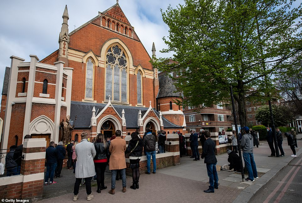 The church had its Good Friday service interrupted by police who said the church had violated Covid-19 rules on gatherings