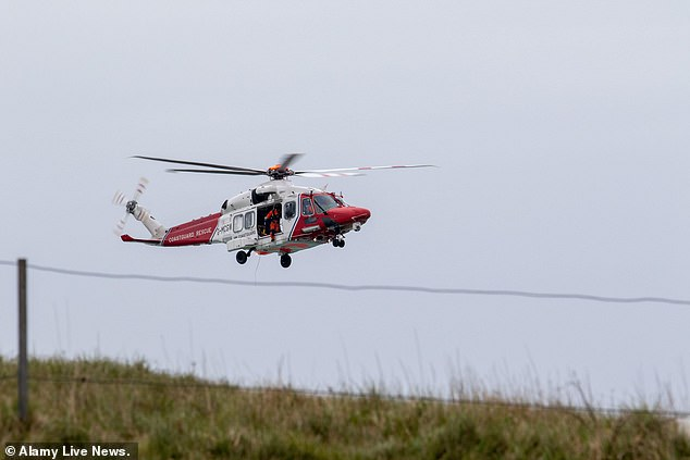 The extreme sports fan was rescued from the base of the cliffs of Beachy Head in Eastbourne, East Sussex