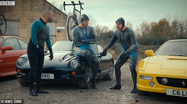 It's going to be entertaining! Other segments will see them testing out Mid-life Crisis Cars and also driving Bond cars