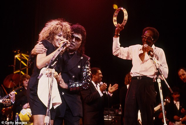 One way of going about it: The Rock & Roll Hall Of Fame is hosting a fan vote where the general public can make their voices heard about who should be included in this year's ceremony; Turner is seen performing with Little Richard in 1989