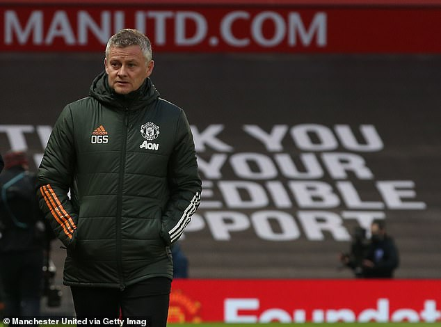 Solskjaer was cagey about the decision, saying he has 'two No 1's' who are 'very, very good'