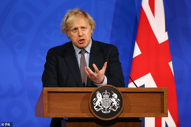 Boris Johnson will today urge everybody to take two Covid tests a week to help safeguard the unlocking of the country