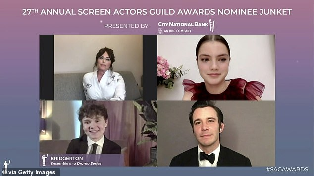 SAG Awards: The drama series was recognised for ensemble cast in a drama series and Regé-Jean Page was singled out with a nod for male actor in a drama series