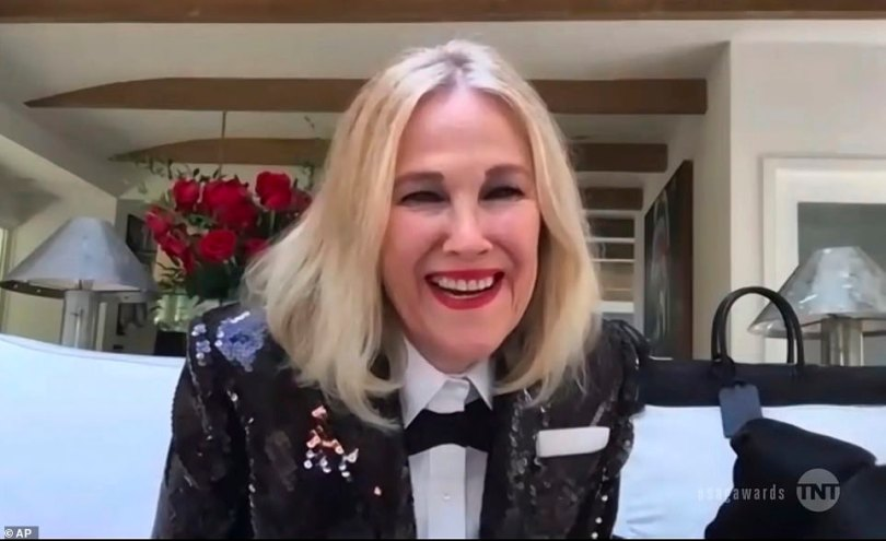 Big win! Catherine O'Hara was the recipient of Best Female Actor In A Comedy Series for her role in Schitt's Creek