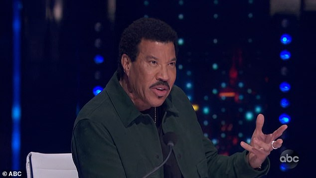 Volcano:'Watching you perform is like watching somebody trying to keep a cap on a volcano,' Lionel Richie said of Wray