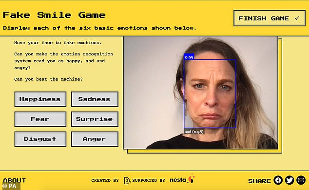 Researchers from Cambridge University and UCL built Emojify to help people to understand how computers can be used to scan facial expressions to detect emotion