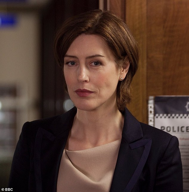 Back from the dead:Line Of Duty's Jackie Laverty [Gina McKee] made a comeback on Sunday's show
