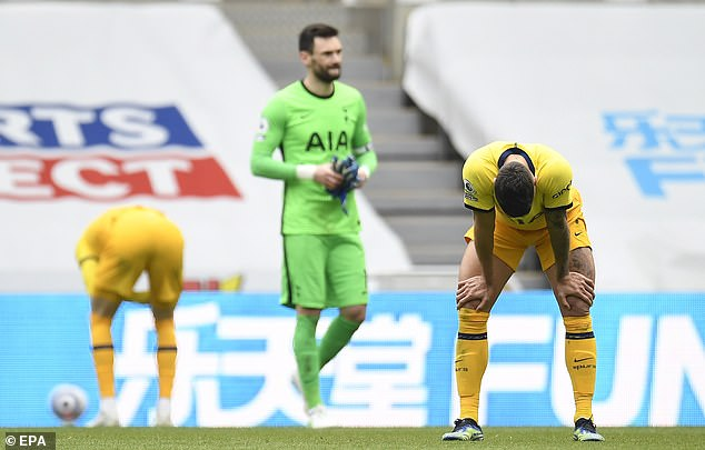 Tottenham Hotspur once again threw away three points late on in a 2-2 draw at Newcastle