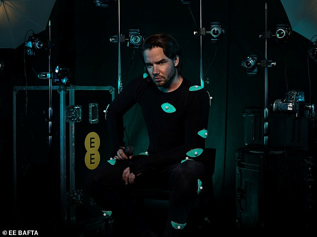 New experience:Liam's performance uses augmented reality to create an avatar which will stream on viewers' phones