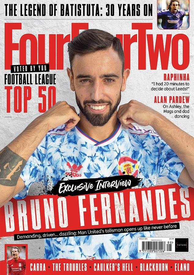 The former Crystal Palace spoke about the infamous moment in latest edition of FourFourTwo