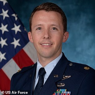 Lt. Col. Brandon Westling, a US Air Force military aide to Joe Biden