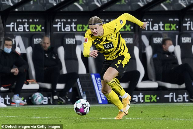 Dortmund striker Erling Braut Haaland is making waves across Europe with his performances