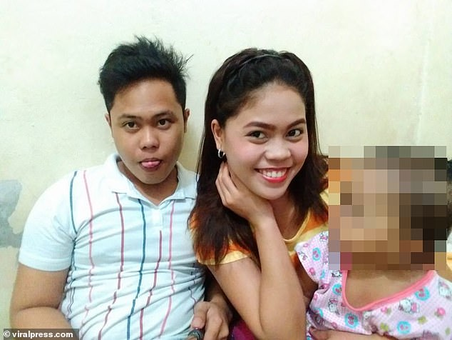 Mr Penaredondo (left), died on April 3 in the Philippines - two days after being forced to do 300 squat thrusts by police for breaking Covid curfew