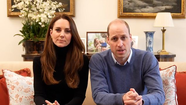 Previously, royal correspondent Jennie Bond said Kate and William's regular Zoom calls have shown them in a 'very good light' and have made them appear more accessible while offering an insight into their true personalities and their home life