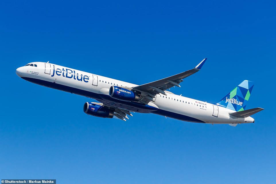 JetBlue is launching services to London for the first time this summer on a long-range version of the single-aisle Airbus A321 aircraft.Above is a stock image of an A321 at JFK Airport