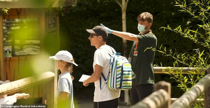 Staff at Chessington will be wearing face masks as they direct people around the park when it reopens next Monday