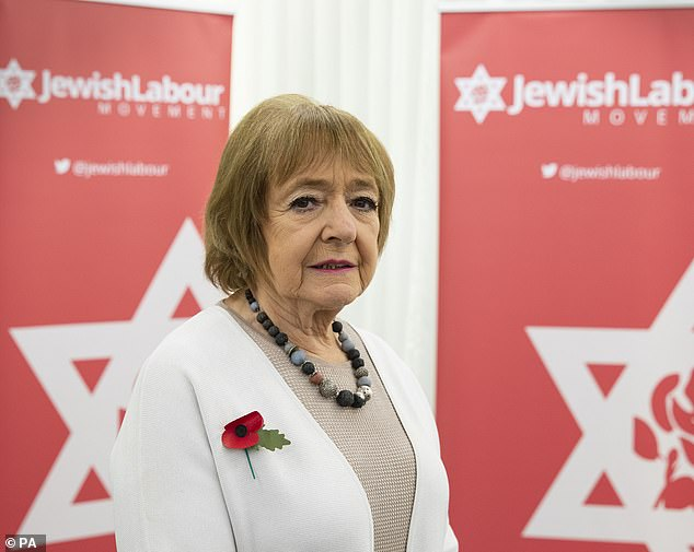 Labour MP Dame Margaret Hodgeslammed the trolls who sent her emails comparing vaccine passports with the Holocaust