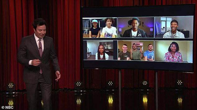Damage control: 'Several Black creators were invited appear on The Tonight Show Starring Jimmy Fallon on Monday night to talk about the dances they created which went viral and actually perform them
