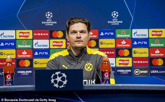 Dortmund boss Edin Terzic insists he is not fazed by all the talk surrounding Haaland's future