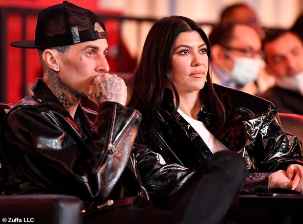 Here and there: She has traveled quite recently, as she and Travis were spotted attending a UFC 260 event in Las Vegas late last month.