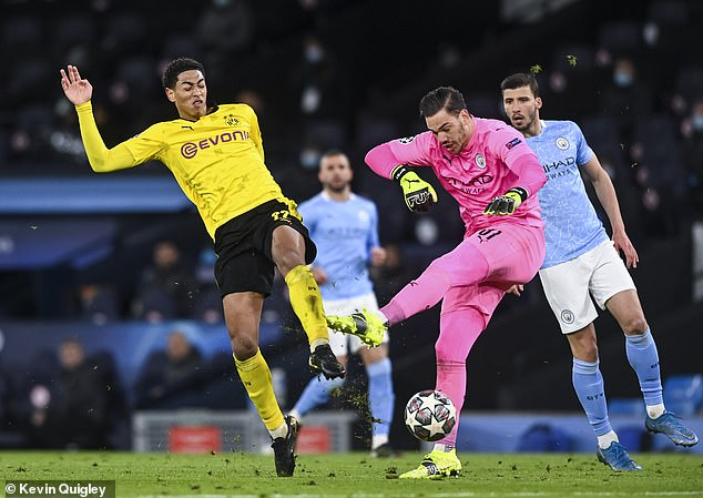 Borussia Dortmund was furious at the terrible decision to rule out Jude  Bellingham's goal to tackle Ederson - London News Time