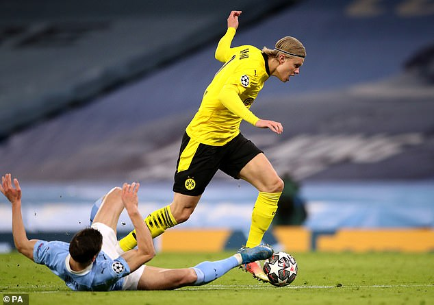 Manchester City target Erling Haaland passes his Etihad audition - T-Gate