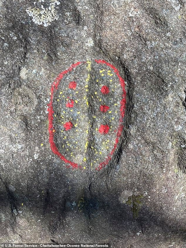 The sites vandalized are special and rare sites for the Eastern Band of Cherokee Indians